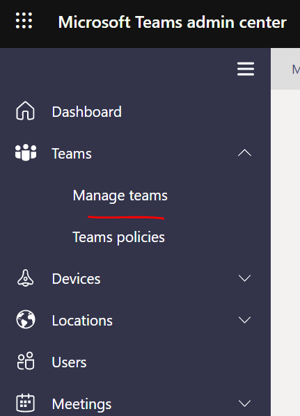 Manage Teams Private channels